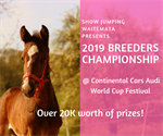 Wondering if you are eligible for our new Breeders Championship?